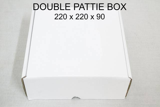 Double-pattie-box
