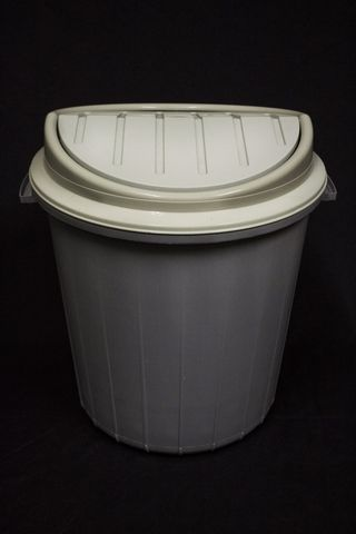 Algoa-plastics-grey-bin-with-grey-top-35l
